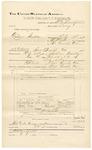 1892 March 31: Voucher, U.S. v. Anderson Fields, larceny; includes costs of travel expenses; William Stephens, Snow Seals, J.B. Himms, witnesses; B.C. Burchfield, deputy marshal; Stephen Wheeler, commisisoner; Jacob Yoes, U.S. marshal
