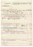 1892 September 31: Voucher, U.S v. Mitchell Bruner, larceny; includes costs of service of warrant, mileage on writ; Ed Reeves, posse comitatus; Bass Reeves, deputy marshal