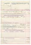 1892 March 29: Voucher, U.S. v. Daniel Barnett, murder; includes costs of service of warrant, mileage on writ; Clarence Warden, posse comitatus; Bass Reeves, deputy marshal