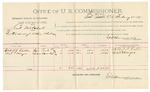 1892 February 22: Voucher, U.S. v. Cal Mitchell, introducing and selling whiskey; incudes costs of per diem and mileage; Albert J. Rooker, Nat Mayer, witnesses; Jacob Yoes, U.S. marshal; E.B. Harrison, commissioner; Stephen Wheeler, clerk