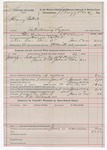 1892 June 11: Voucher, U.S. v. Henry Colbert, introducing liquors; J.H. Shaw, deputy marshal; James Brizzolara, commissioner; F.M. Caldwell, posse comitatus; includes cost of supplies for men and horses