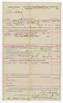 1892 May 18: Voucher, U.S. v. Allen Southard, larceny; includes costs of service of warrant, mileage on writ, feeding prisoner; John Swain, deputy marshal; Stephen Wheeler, commissioner; J.M. Dodge, deputy clerk; Jacob Yoes, U.S. marshal