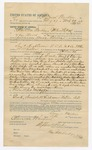 1892 April 01: Voucher, to Clarence Warden, of Fort Smith, Arkansas, for assisting Bass Reeves, deputy marshal, in U.S. v. Saul Hightower, James Barnett, Daniel Barnett, Willis Leno, Little Leno, One Hodibitsy, Perro Fixigo, Isaac Frazier and Sunny Boy, retail liquor dealer, introducing spirituous liquors; Stephen Wheeler, commissioner; J.M. Dodge, deputy clerk; Lee Thompson, witness to signature; Jacob Yoes, U.S. marshal