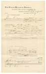 1892 March 09: Voucher, U.S. v. Brier Drayer, larceny; includes costs of service of warrant and subpoena; May Ship, Scott Gentry, Jim Holt, witnesses; James Brizzolara, commissioner; B.C. Birchfield, deputy marshal