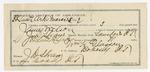1892 March 29: Voucher, B.S. Stephens, of Fort Smith, Arkansas, for assisting J.H. Shaw, deputy marshal, in U.S. v. Bob Folsom, introducing spirituous liquor; Stephen Wheeler, commissioner; J.M. Dodge, deputy marshal
