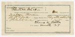 1892 March 23: Voucher, U.S. v. William Mitchell, larceny; includes costs of per diem and mileage; James C.C. Rogers, Noah Watts, James Sherman, witnesses; Jacob Yoes, U.S. marshal; Stephen Wheeler, commissioner