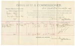 1892 March 25: Voucher, U.S. v. Rueben Hall, introducing spirituous liquor; includes costs of per diem and mileage; Alexander Cohen, George Faber, witnesses; J. Anderson, witness to signature; Jacob Yoes, U.S. marshal; James Brizzolara, commissioner