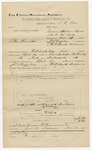 1892 June 30: Voucher, U.S. v. Silas Rennicker, introducing spirituous liquor; includes costs of travel; D.C. Dyer, deputy marshal; Celan Collins, witness; James Brizzolara, commissioner; Jacob Yoes, U.S. marshal