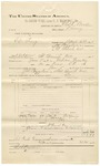 1892 June 30: Voucher, U.S. v. Ed King, larceny; includes costs of travel; George Young, witness; Charles L. Burden, deputy marshal; James Brizzolara, commissioner; Jacob Yoes, U.S. marshal