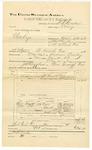 1892 May 19: Voucher, U.S. v. Charles Keys, larceny; includes costs of travel expenses; Mrs. McIntosh, J.C. Frank, J. Hurley, James Coleman, et al., witnesses; W.R. Cowden, deputy marshal; Jacob Yoes, U.S. marshal; James Brizzolara, commissioner
