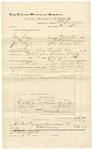 1892 June 31: Voucher, U.S. v. George Kelley (alias George Taylor), assault; includes costs of service of warrant and subpoenas; Sunny Boy, Walter Neun, Mr. H. Ransom, witnesses; R.C. Burchfield, deputy marshal; Jacob Yoes, U.S. marshal; Stephen Wheeler, commissioner