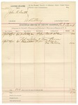 Voucher, U.S. v. John R. Smith, adultery; U.S. v. John Brown and Tom Brown; includes costs of service of subpoenas; Burt McGee, A. Keene, One Collins, witnesses; W.N. Stewart, deputy marshal