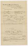 1892 June 30: Voucher, U.S. v. Jesse Vann (alias Jesse Starr), introducing spirituous liquor; includes costs of travel, service of subpoenas; Luke Seymore, May Seymore, witnesses; E.H. Bruner, deputy marshal; E.B Harrison, commissioner