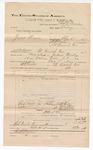 1892 December 31: Voucher, U.S. v. Grant Benn, larceny; Charles L. Bowden, deputy marshal; Jacob Yoes, U.S. marshal; R.C. Fields, Caleb Starr, George Roach, James Mikehead, witnesses; Stephen Wheeler, commissioner
