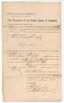 1891 November 5: Verdict, U.S. v. Benjamin Duff, murder; Henry Caldwell, judge; Stephen Wheeler, clerk; I.M. Dodge, deputy clerk