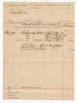 1891 February 21: Voucher, U.S. v. Rube Johnson, larceny; R.B. Creekmore, deputy marshal; Alfred Heard, Alfred Pennywright, Andrew Bettis, John Frederick, Anderson Johnson, witnesses