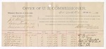 1891 June 12: Voucher, U.S. v. J.A. Williams, cutting timber on government land; W.H. Miller, C.W. Pierce, J.T. Arendale, C.W. Clark, W.M. McCollum, William Dooley, W.J. Blackburn, J.A. Blackburn, G.A. Blackburn, witnesses; William H.H. Clayton, U.S. attorney general; Stephen Wheeler, commissioner; includes cost of per diem and mileage