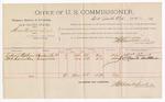 1891 June 16: Voucher, U.S. v. Steve French et al., introducing spirituous liquors; Robert Stevens, W.A. Hamilton, witnesses; Jacob Yoes, U.S. marshal; Stephen Wheeler, commissioner; includes cost of per diem and mileage
