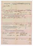 1892 June 3: Voucher, U.S. v. John Mathis, larceny; W.N. Steweart, deputy marshal; E.B. Harrison, commissioner; Thomas Burnett, J.B. Merrill, J. Harris, H. Fencher, witnesses; includes cost of mileage, service and subsistence for self, horse and prisoner