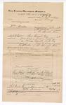 1892 June 30: Voucher, U.S. v. William Martin, larceny; W.R. Cowden, deputy marshal; Jacob Yoes, U.S. marshal; Stephen Wheeler, commissioner; David McGrath, Ben Dawson, Thomas McGrath, witnesses