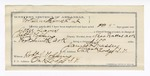 1892 June 1: Voucher, U.S. v. John Davis, murder; Robert J. Topping, deputy marshal; Stephen Wheeler, commissioner; James Massey, guard; Lucy Surratt, Col Plewing, Mary Nancy, Dr. Cooper, Martha Plewing, witnesses; includes cost of mileage, service and subsistence for self, horse and prisoner