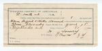 1892 July 8: Voucher, U.S. v. Walter Barnard, introducing liquor; Elmer Alexander, deputy marshal; E.B. Harrison, commisisoner; William Young, George Shamblin, witnesses; H. Young, guard; includes cost of mileage, service and subsistence for self, horse and prisoner