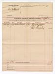 1892 July 14: Voucher, U.S. v. Frank Hamilton; T.B. Johnson, deputy marshal; Florena Blevins, Laura Herrin, John Roach, Jim Haggard, witnesses; includes cost of mileage and service