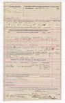 1892 July 23: Voucher, U.S. v. Eli Parker, murder; E.B. Bruner, deputy marshal; Jacob Yoes, U.S. marshal; Joe Bowers, posse comitatus; Dr. Thompson, One Mayfield, One Hill, Dr. Bond, witnesses; Stephen Wheeler, clerk; I.M. Dodge, deputy clerk; includes cost of mileage, service and subsistence for self, horse and prisoner