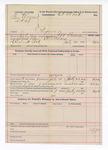 1892 July 23: Voucher, U.S. v. Ben Warren et al., perjury; J.W. Bowman, deputy marshal; inludes cost of mileage and service