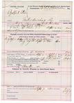 1892 Sepetember 07: Voucher, U.S. v. Ezekiel Starr, introducing spirituous liquor; includes costs of service of warrant, mileage on writ, feeding prisoner; William Preston, posse comitatus; Jack Hulse, deputy marshal; E.B. Harrison, commissioner