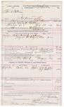 1892 August 17: Voucher, U.S. v. Buck Collins, introducing spirituous liquor; includes costs of service of warrant, mileage on writ; Will Neighbors, A.J. Moon, witnesses; J.D. Shaw, deputy marshal; Stephen Wheeler, clerk; J.M. Dodge, deputy clerk
