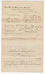 1892 December 31: Voucher, U.S. v. James Wilson and John Saloviska, introducing spirituous liquor; includes costs of travel; Alex Wilson, witness; D.C. Dye, deputy marshal; Jacob Yoes, U.S. marshal; Stephen Wheeler, commissioner