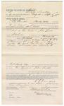 1892 September 05: Voucher, to S. Lee Sanders, of Cherokee Nation, for assisting H.L. Rogers, deputy marshal, in U.S. v. Tom Tucker, John Lovell; Stephen Wheeler, commissioner; I.M. Dodge, deputy clerk; Jacob Yoes, marshal