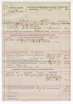 1892 September 11: Voucher, U.S. v. Peter Cowee, introducing spirituous liquor; includes costs of service of warrant, mileage on writ, feeding prisoner; Cobeeha, Leholock Cache, Wiley Anderson, James Deer, witnesses; Ed Reeves, posse comitatus; Bass Reeves, deputy marshal; James Brizzolara, commissioner