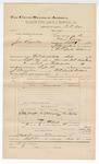 1892 September 30: Voucher, U.S. v. John Reynolds, larceny; includes costs of travel; One Oglesby, witness; D.C. Dye, deputy marshal; James Brizzolara, commissioner; Jacob Yoes, U.S. marshal