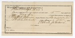 1892 September 30: Voucher, U.S. v. Jim Coody, larceny; includes costs of service as guard, service of warrant, mileage on writ; Fayette Smith, witness; Robert Johnson, guard; Grant Johnson, deputy marshal; Stpehen Wheeler, commissioner; Jacob Yoes, U.S. marshal