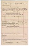 1892 January 04: Voucher, U.S. v. Sam Anderson, introducing spirituous liquor; includes costs of service of warrant, mileage on writ, feeding prisoner; Bud Parnell, deputy marshal; Stephen Wheeler, commissioner