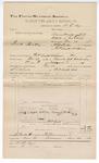 1893 November 28: Voucher, U.S. v. David Headley, assault with intent to kill; includes costs of travel; William Frazier, witness; D.C. Dye, deputy marshal; Stephen Wheeler, commissioner