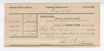1892 December 31: Voucher, includes costs of posse comitatus fees, mileage fees; Charles L. Bowden, deputy marshal; Stephen Wheeler, clerk; J.M. Dodge, deputy clerk; Jacob Yoes, U.S. marshal