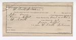 1892 December 31: Certificate of employment; James Colbert, guard; John Bains, prisoner; Binum Colbert, deputy marshal